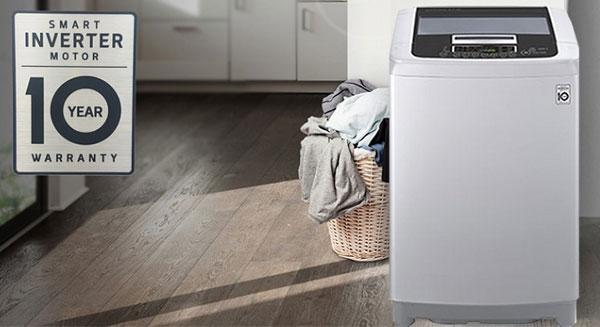 Thế nào là Smart Inverter trên máy giặt LG?