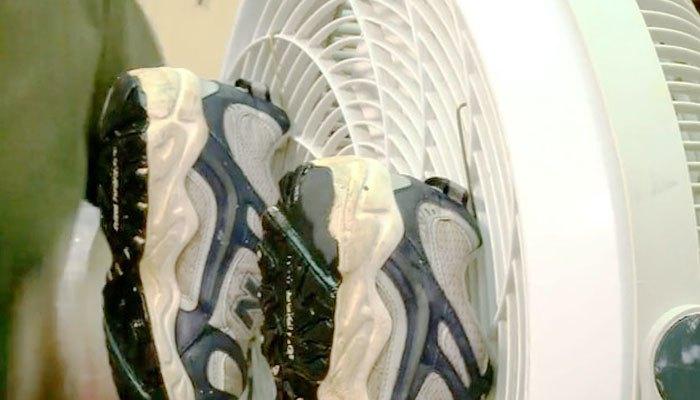 Quạt máy làm khô mọi loại giày