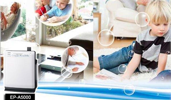 Chiếc máy lọc không khí này sẽ giúp gia đình bạn đẩy xa bụi bẩn và vi khuẩn