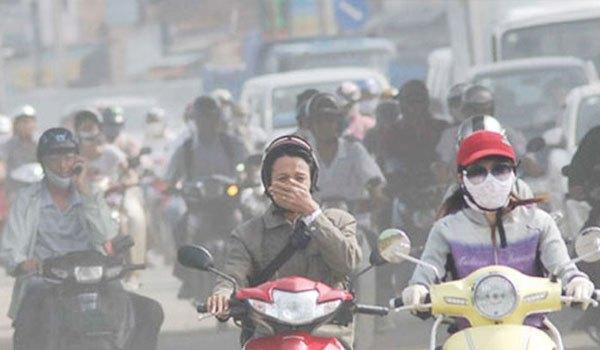 Ô nhiễm không khí gây hại đến sức khỏe con người