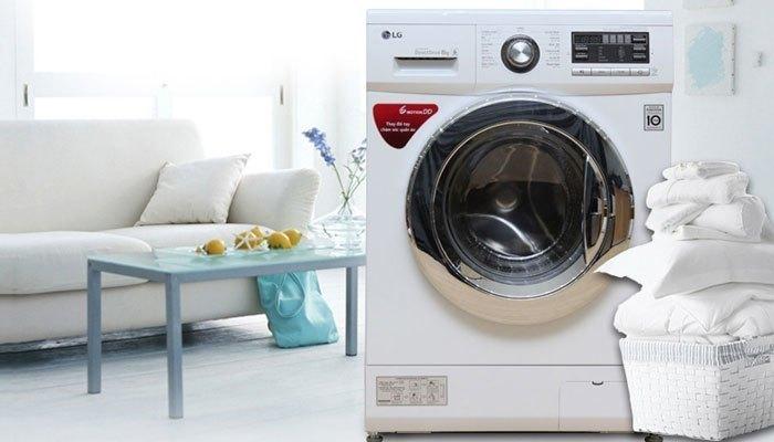 Bạn sẽ tiết kiệm được lượng nước và điện tiêu thụ với máy giặt LG F1408NM2W