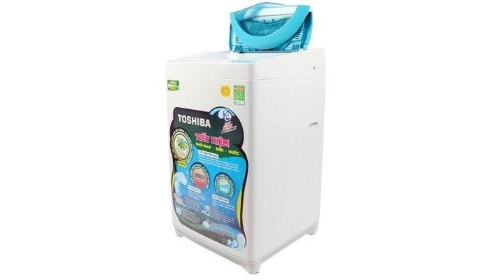 Chiếc máy giặt Toshiba giúp tẩy sạch mọi vết bẩn