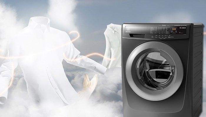 Công nghệ giặt hơi nước giúp loại bỏ vi khuẩn từ máy giặt