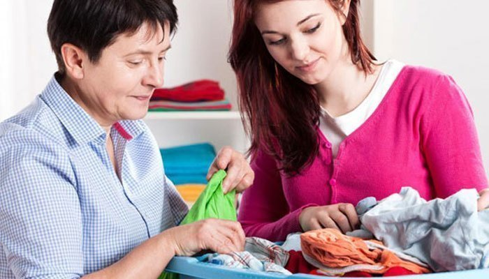 Loại bỏ vi khuẩn trên quần áo từ máy giặt