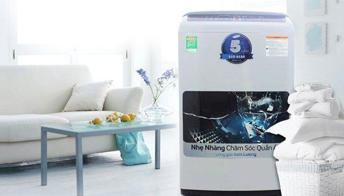 Máy giặt tôn lên vẻ hiện đại cho căn nhà bạn