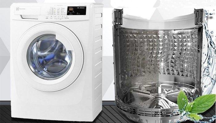 Công nghệ kháng khuẩn giúp loại bỏ vi khuẩn từ máy giặt