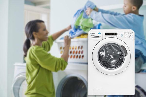 Máy giặt Candy sở hữu 16 chương trình giặt