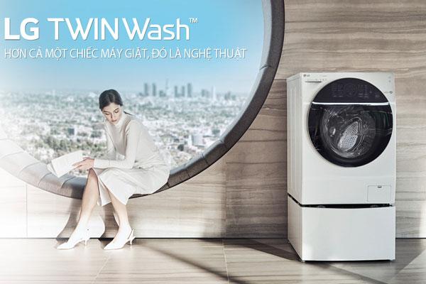 Đặt ngay máy giặt lồng đôi LG TWIN Wash để nhận những phần quà hấp dẫn