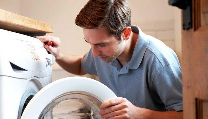 Có thể do cúp nước nên máy giặt không hoàn tất công việc của mình