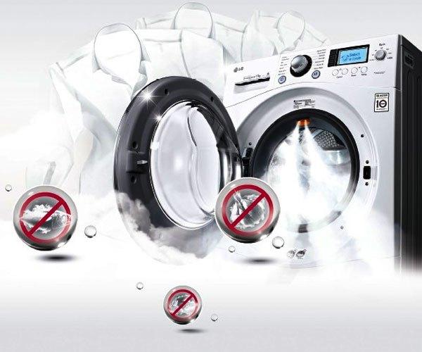 Máy giặt hơi nước giúp giảm nhăn quần áo, khử mùi khó chịu