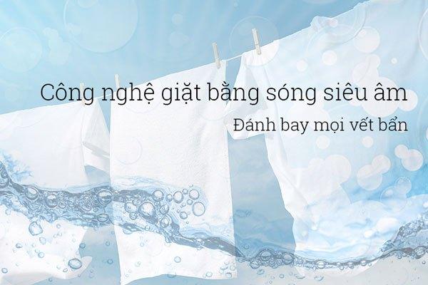 Công nghệ sóng siêu âm nay đã có trên máy giặt Aqua