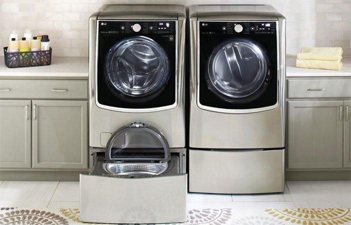 Máy giặt LG TWIN Wash tiết kiệm không gian đặt