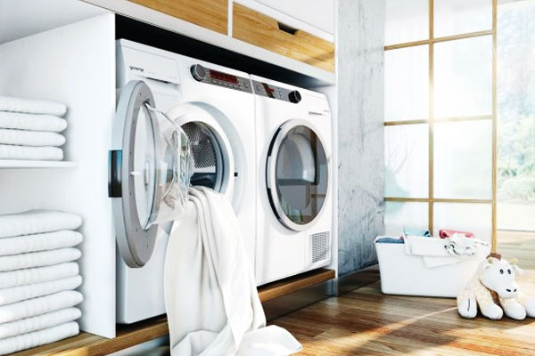 """Bạn sẽ không bị """"thất thủ"""" mùa mưa cũng như rút ngắn thời gian giặt giũ với máy giặt có chức năng sấy khô"""