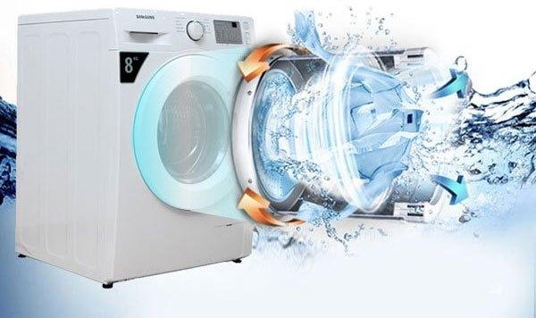Khối lượng giặt bao nhiêu thì chọn chế độ quay vắt phù hợp bấy nhiêu cho máy giặt cửa trước