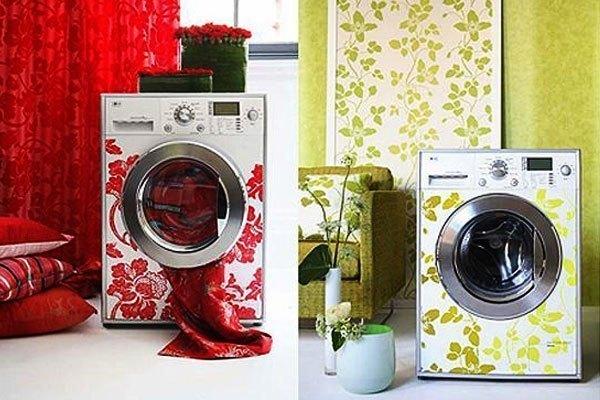 Trang trí máy giặt để chúng hòa quyện với không gian nội thất căn nhà