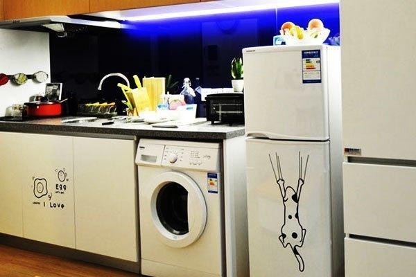 Đặt máy giặt như thế này sẽ tiết kiệm diện tích rất nhiều