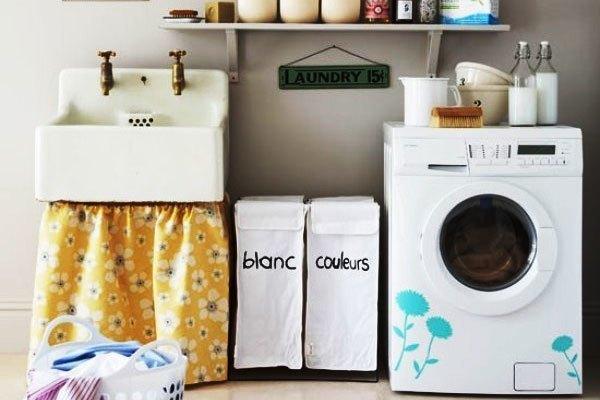 Đo đạc diện tích trước khi đặt máy giặt