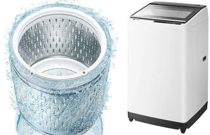 Không chỉ có công nghệ Inverter, máy giặt Hitachi còn sở hữu khả năng tự động làm sạch