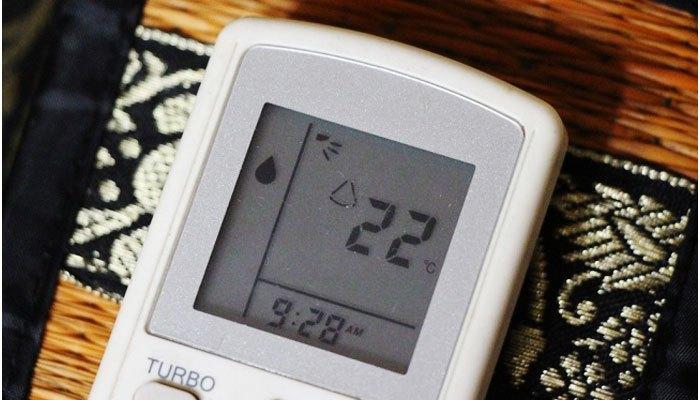 Chọn chế độ Dry trên máy lạnh để đuổi muỗi