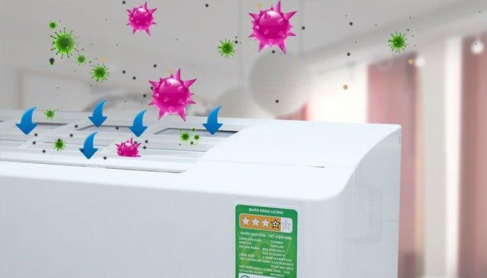 Vi khuẩn gây mùi hôi trên máy lạnh