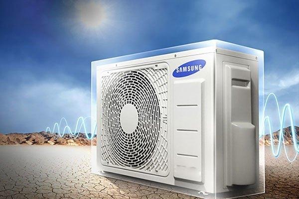 Máy lạnh có thể bị quá tải khi thời tiết trở nên nóng bức