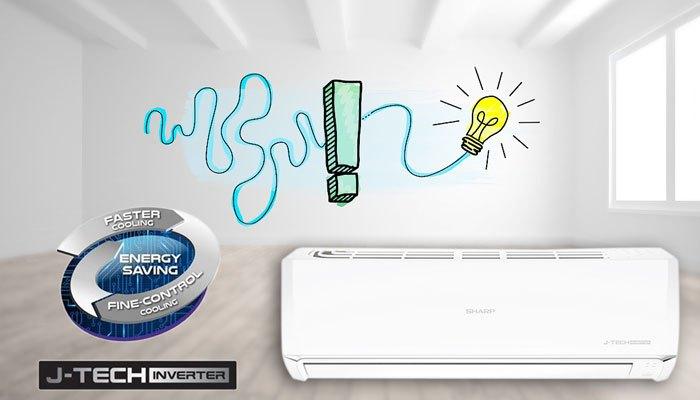 Máy lạnh Sharp tiết kiệm năng lượng