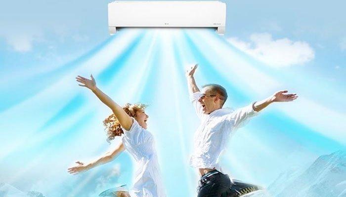 Công nghệ làm lạnh nhanh trên máy lạnh LG sẽ khiến bạn yêu ngay!