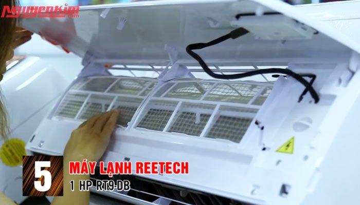 Điều hòa Reetech vệ sinh dễ dàng hơn với thiết kế độc đáo