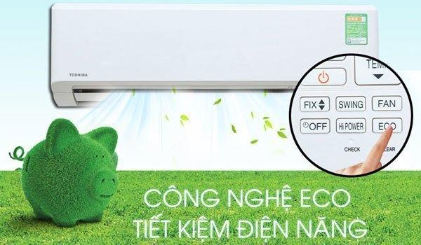 Máy lạnh tiết kiệm điện năng nhờ chế độ ECO