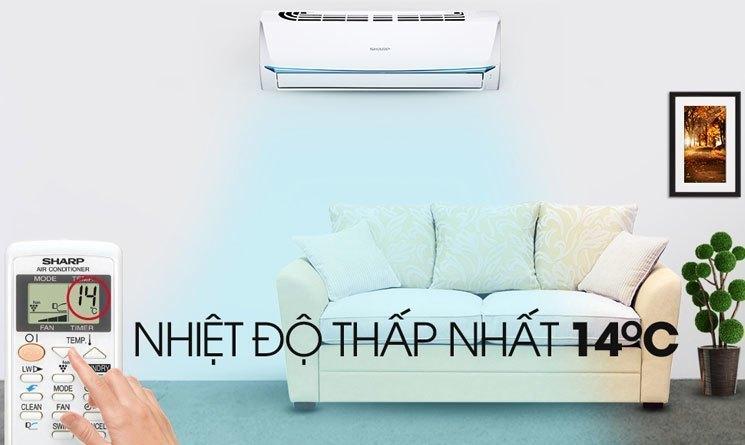 Máy lạnh Sharp làm lạnh nhanh