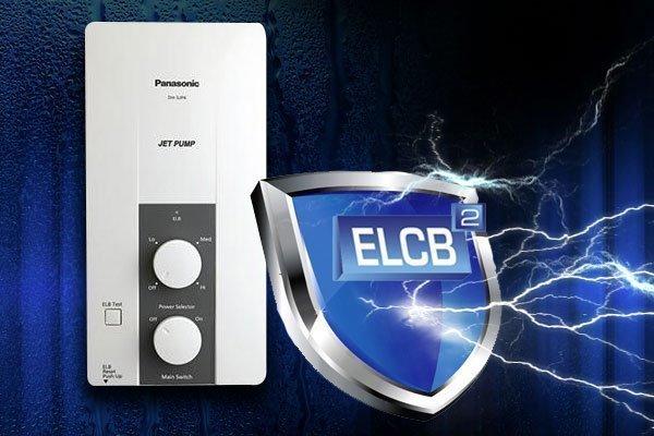 Máy nước nóng Panasonic DH-3JP4 với thiết kế hiện đại và tính năng ngắt điện ELCB là sản phẩm đáng tin cậy cho gia đình bạn