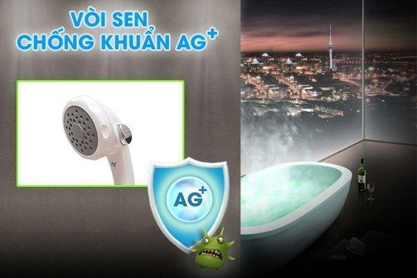 Máy nước nóng Panasonic DH-4MS1 có vòi sen kháng khuẩn