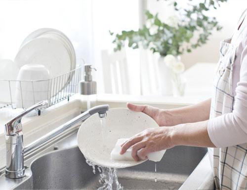 Rửa theo cách truyền thống tốn nhiều nước hơn