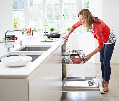 Một chiếc máy rửa chén sẽ giúp bạn tiết kiệm nhiều thời gian hơn để làm các việc khác