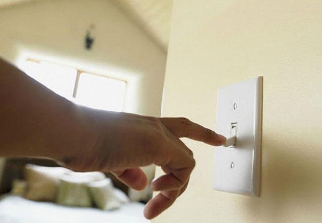 Chỉ bật máy nước nóng khi có nhu cầu sử dụng