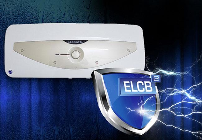 Máy nước nóng Ariston được trang bị khả năng chống giật điện cho bạn an tâm hơn khi dùng