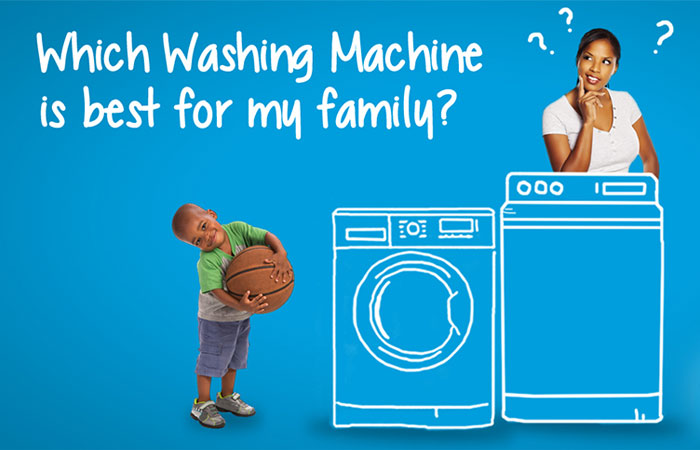 Những chiếc máy giặt có chức năng khóa trẻ em sẽ rất tiện lợi cho gia đình có trẻ nhỏ