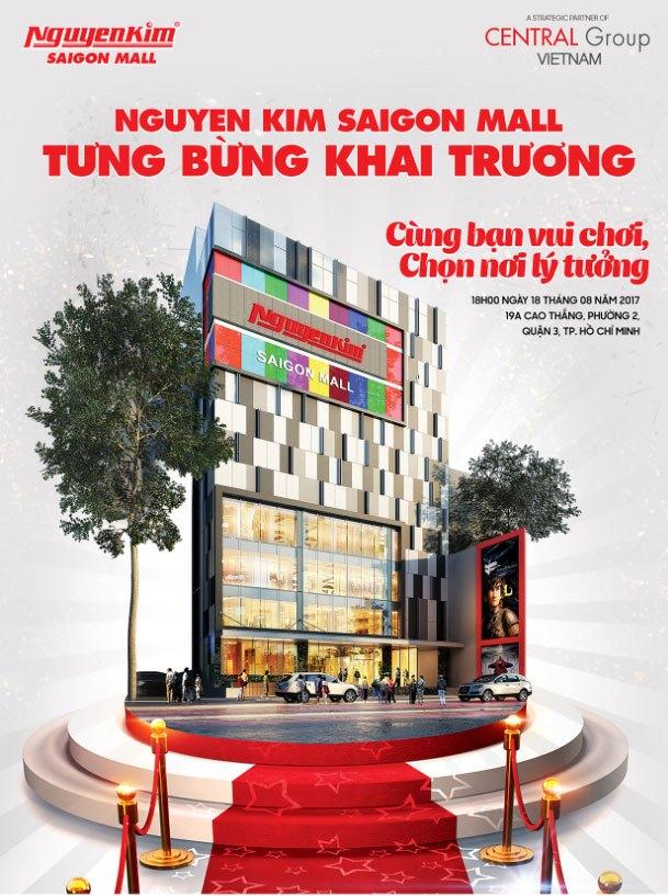 Khai trương Nguyen Kim Saigon Mall