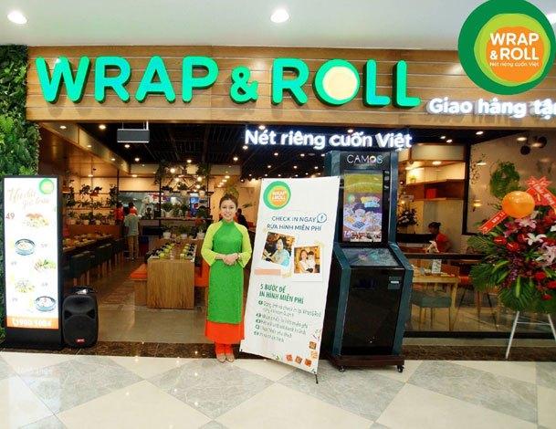 Đương nhiên món cuốn thuần túy làm sao vắng mặt đượctại Nguyen Kim Saigon Mall