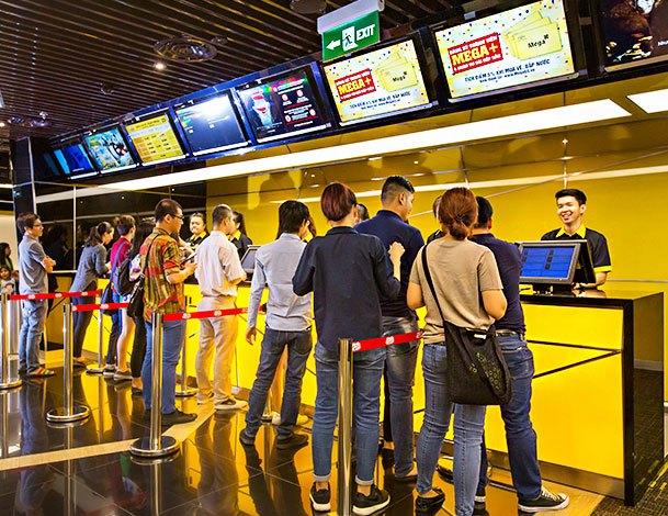 Rạp chiếu phim tại Nguyen Kim Saigon Mall