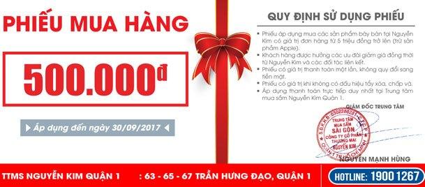 Đến Nguyen Kim Saigon Mall nhận ngay phiếu mua hàng số lượng giới hạn