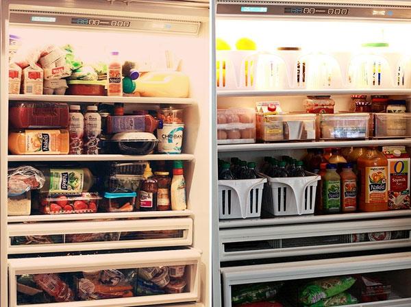 Bạn sẽ dễ lấy thức ăn hơn khi có cách sắp xếp thực phẩm trong tủ lạnh khoa học, hợp lý.