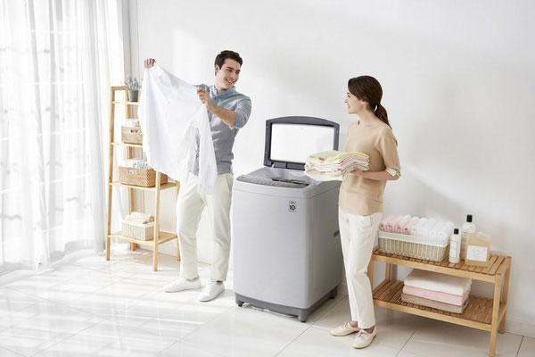 Máy giặt LG là thương hiệu máy giặt bán chạy số 1 thế giới (ngoại trừ thị trường Trung Quốc)