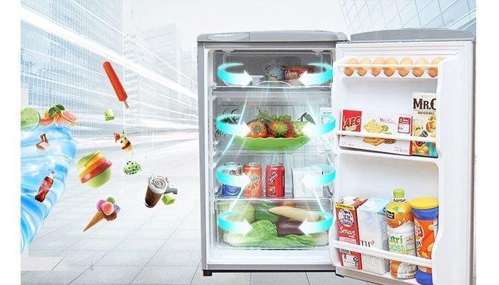 Tủ lạnh mini có mức giá rẻ, phù hợp túi tiền nhiều người