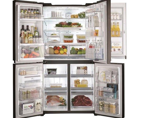 Phân chia nhiệt độ thông minh trên tủ lạnh Sharp