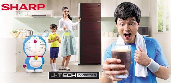 Tủ lạnh Sharpkiểm soát nhiệt độ tốt