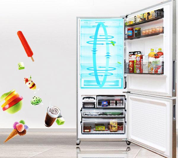 Tủ lạnh sẽ làm việc kém hiệu quả, tiêu tốn nhiều năng lượng nếu được đặt không đúng