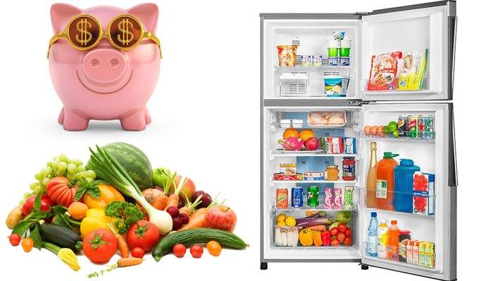 Tủ lạnh Aqua giữ cho rau củ luôn tươi ngon và tiết kiệm điện