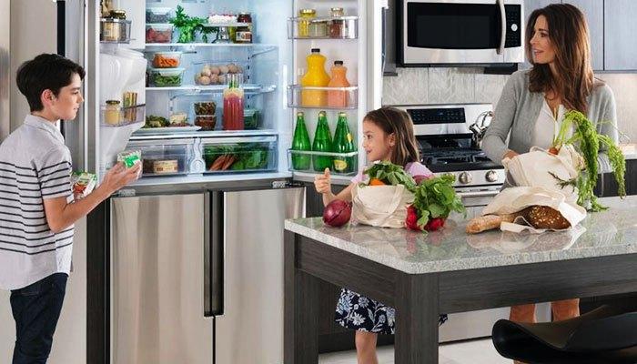 Mỗi thức ăn nên có một khu để riêng trong tủ lạnh
