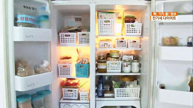 Chuyên gia điện này cho biết, nguyên nhân khiến tủ lạnh tiêu tốn nhiều điện nhất chính là vì cách sắp xếp thực phẩm không hợp lý.